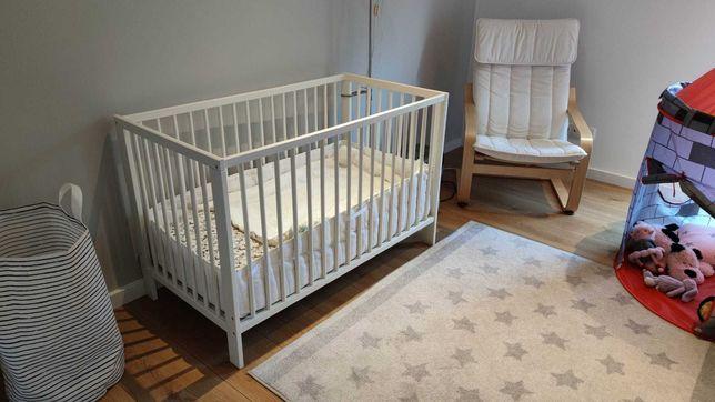 Cama Branca bebé ikea