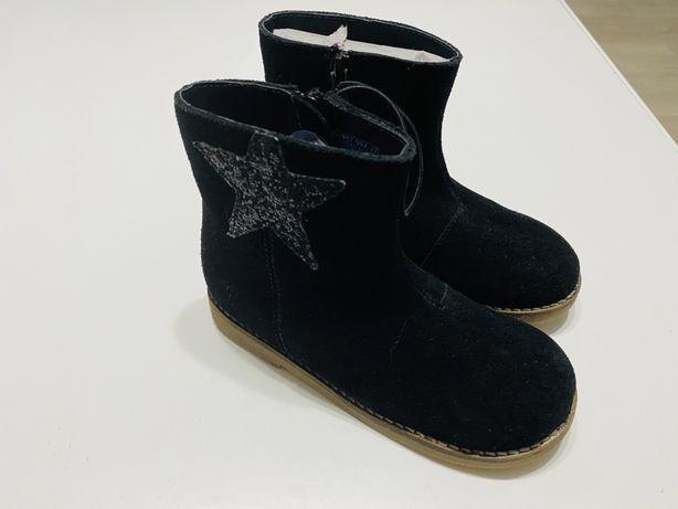 Botki buty dla dziewczynki skórzane reserved rozm 27 nowe