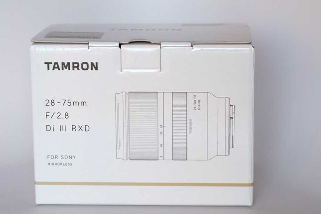 Tamron 28-75mm 2.8 Sony FE Garantia