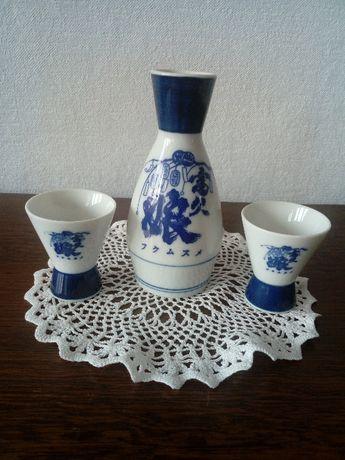 porcelanowy zestaw do picia sake