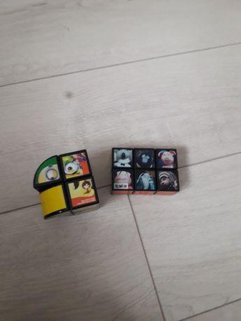 Екслюзивні кубик рубик 2 шт міньйон мультик співай