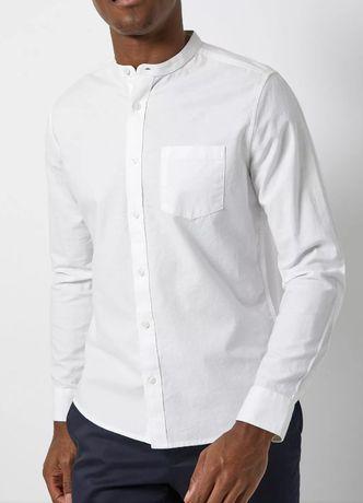 Рубашка Burton menswear London мужская белая рубашка