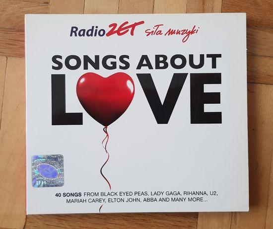 Songs about love - piosenki na CD, na walentynki