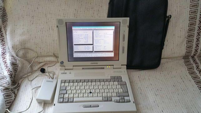 Раритетный  ноутбук  COMPAQ LTE 5150.