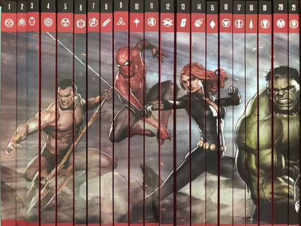 Superbohaterowie Marvel 1-21