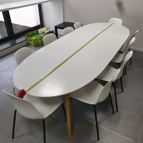 Duży stół do jadalni lub kuchni składany