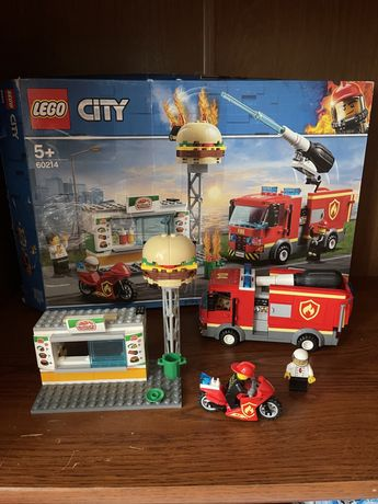 Конструктор LEGO пожарная машина
