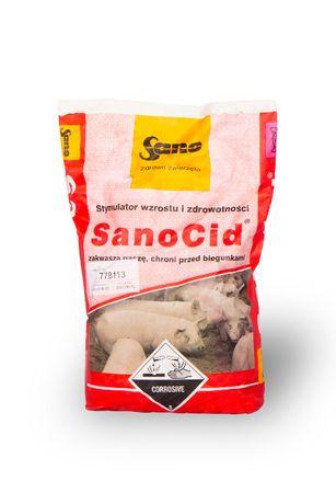 Zakwaszacz SanoCid 10 kg - stabilizator flory jelitowej