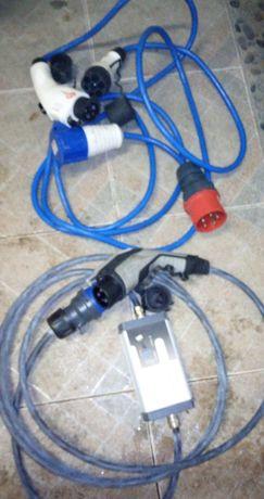 Зарядное устройство, кабеля для электромобией (Leaf, BMW и др.