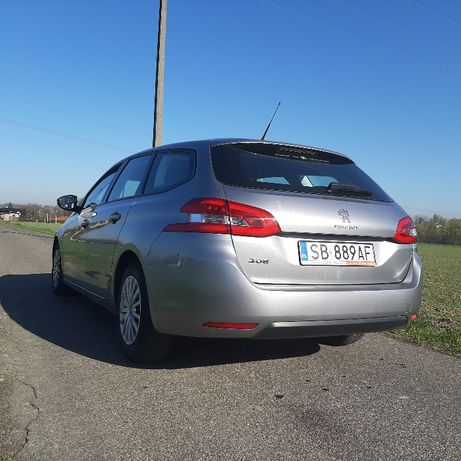Peugeot 308 rodzinne kombi