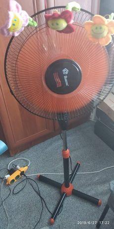 Вентилятор бытовой напольный Domotec