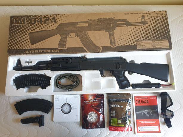 Replika karabinu AK-47 CM.042A + akcesoria ASG