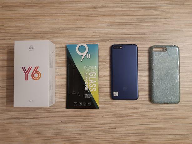 Huawei Y6 2018 (gwarancja do 08.10.21) Stan idealny