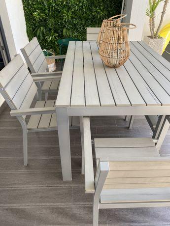 Mesa de exterior com 6 cadeiras - IKEA