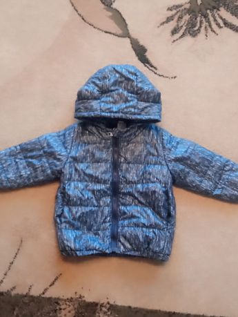 Детская курточка Деми ( с ушками)