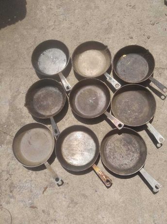 сковородка алюминиевая, литая