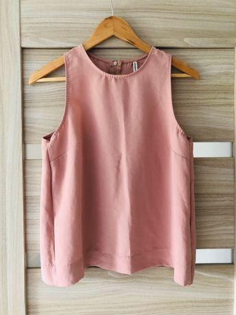 Różowa bluzka koszula stradivarius M