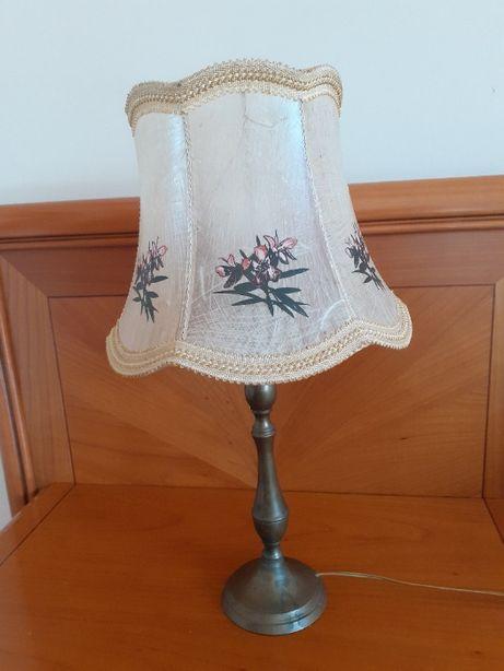 lampa stołowa nocna antyk