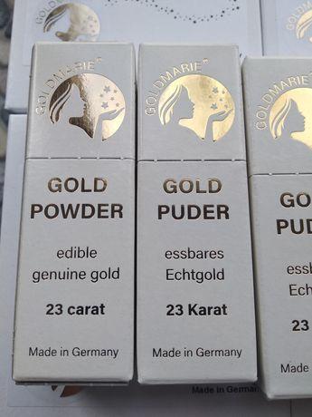 Немецкое пищевое золото в хлопях.