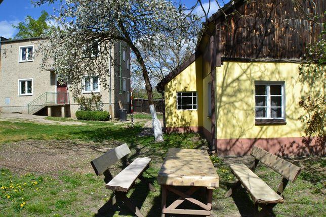 Dwa domy w jednej cenie i 48 arów działki ! Piękne jezioro - Kursko !