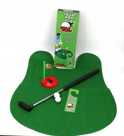 Golf gra do WC zestaw do gry w toalecie HIT