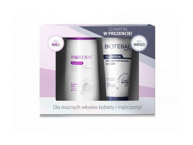 Zestaw BIOTEBAL szampon + szampon BIOTEBAL MEN