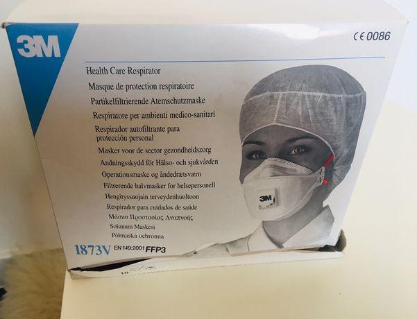 Medyczna półmaska filtrująca z zaworem 3M