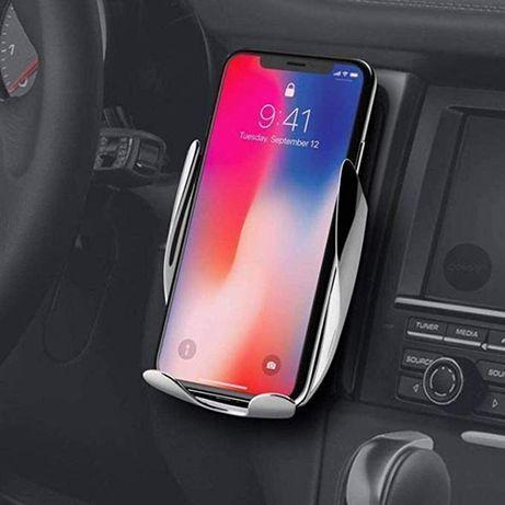 Suporte para Carregador Telemóvel Wireless para Carro - Novo