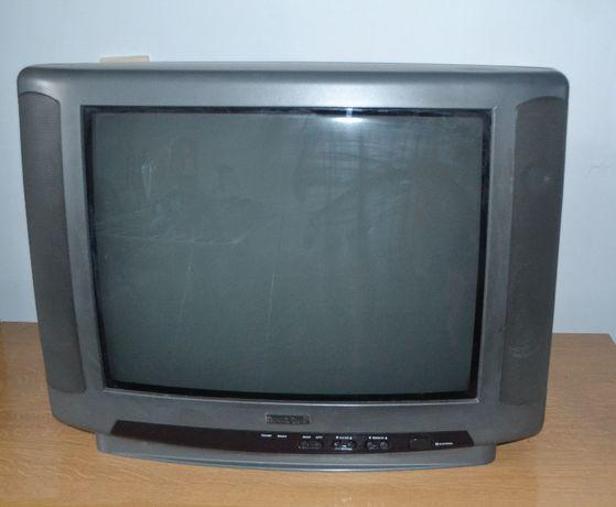 """Telewizor kineskopowy21"""", tv stary typ, sprawny"""
