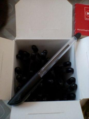 Ручка шариковая с чёрной пастой 32+7шт