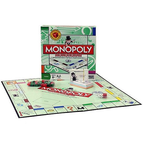Игра монополия. Подарок на любой праздник!