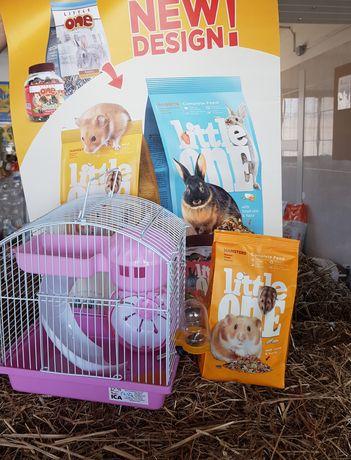 Kit hamster, hamster+gaiola +comida