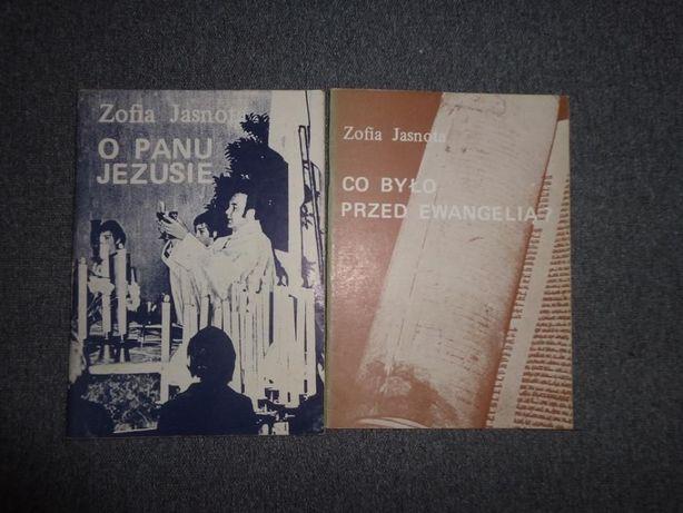 Książki, O Panu Jezusie, Co było przed ewangelią?, Zofia Jasnota