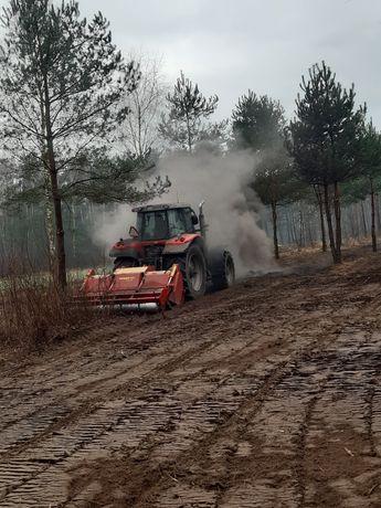 Wycinka drzew czyszczenie terenu mulczer leśny mulczowanie rekultywacj