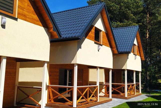 Domki apartamentowe nad morzem w Ostrowie k. Karwia Jastrzębia Góra