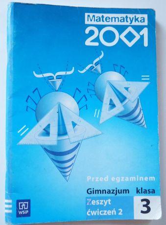 Matematyka 2001 3 Zeszyt ćwiczeń część 2