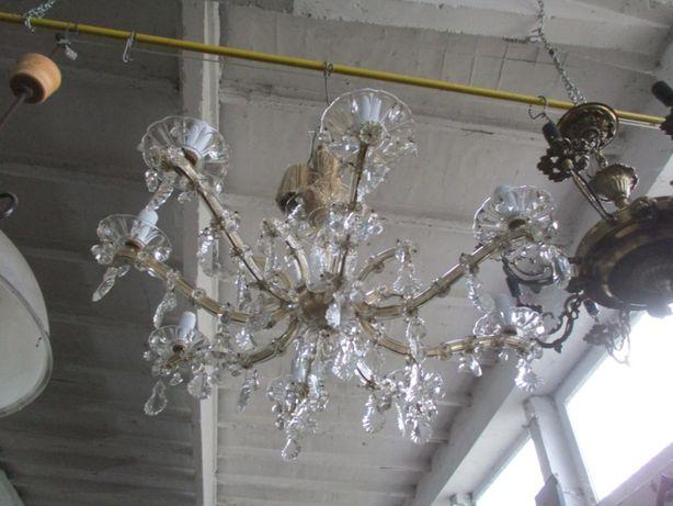 Żyrandol Maria Teresa Szkło kryształowe