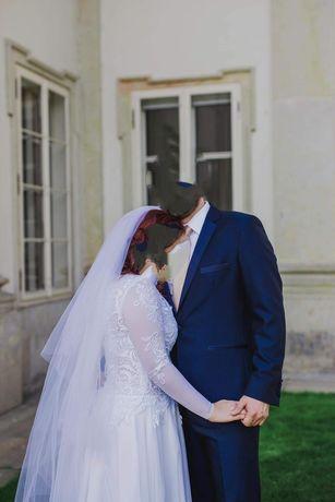 Suknia ślubna gala keira długi rękaw