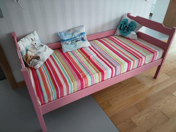 Łóżko 180x80, drewniane, Piętrus