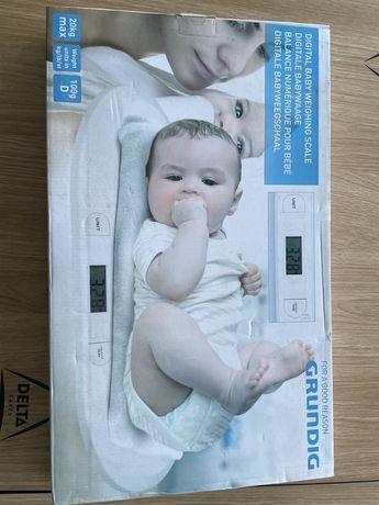 Balança Digital Branca 20kg P/ Bebés Grundig