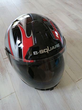 Kask motocyklowy rozm. M 57-58.
