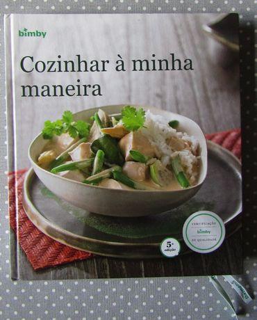 """Livro """"Cozinhar à Minha Maneira"""" Novo Portes Gratis"""
