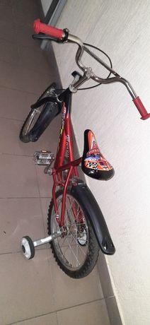 Детский велосипед, на возраст 4-7лет,трансформер,