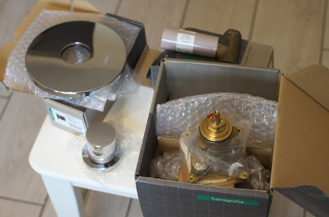 Hansgrohe термостат Ecostat S (15711000) + вентиль две части