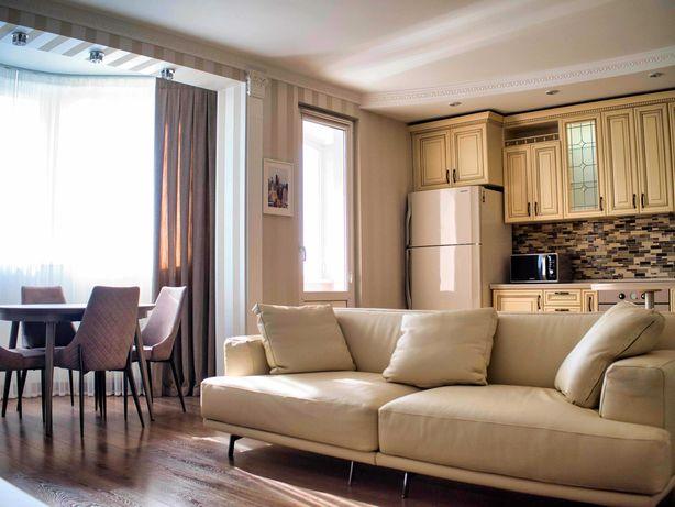 Панорамная, стильная квартира, первая сдача.
