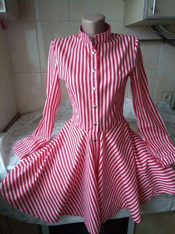 Платье - халат летний
