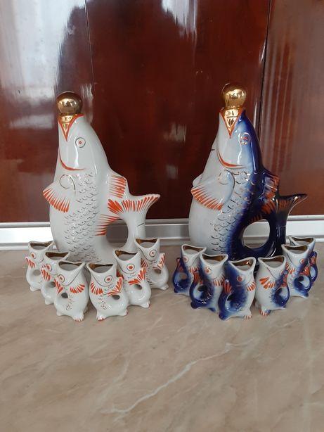 Статуетки рибки