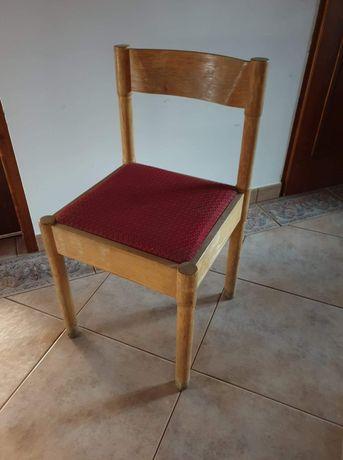 Krzesła drewniane gościcińska fabryka mebli z okresu PRL 6 SZTUK