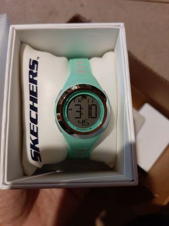 Skechers спортивные кварцевые цифровые Tennyson водонепроницаемые часы