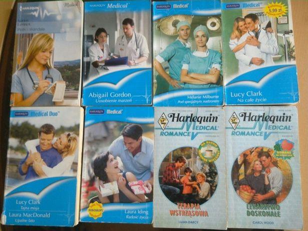 Harlequin seria Medical 10 gorących romansów